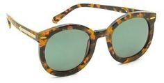 Karen Walker Super Duper Strength Sunglasses   a Spring must have!
