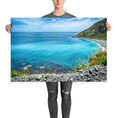 Wellington New Zealand, Black Sand, Prints For Sale, Digital Prints, Tropical, Tapestry, Beach, Fingerprints, Hanging Tapestry