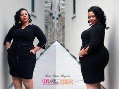 Ophilia's Kurves presenting a dress from SexyPlus Clothing...looking good! #Lyz #plusmodels #curvymodels #curvymodelsrocks