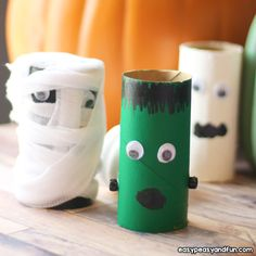 Toilet paper rolls are the most versatile (and inexpensive) craft item in our stash -