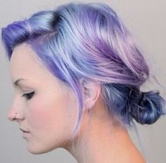 I cant wait to dye my hair periwinkle hair, pastel purple hair, dyed ha Periwinkle Hair, Pastel Purple Hair, Dyed Hair Pastel, Blue Hair, Lilac Hair, Violet Hair, Pretty Pastel, Blue Ombre, Brown Hair