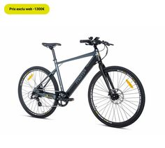Vélo de ville électrique Momabikes E-ROAD PRO 28 Full Shimano, Freins à disques Hydrauliques - 😍Découvrir ici - #Velodeville #Velo #Veloelectrique #MOMABIKES #VeloGoSport #Gosport #Vélo #Velofemme #Velodevilleelectrique #velohomme Go Sport, Bicycle, Sports, Hs Sports, Bike, Bicycle Kick, Bicycles, Sport