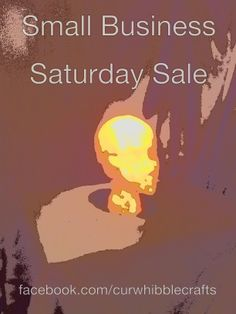 Small Business Saturday Sale Going on my Facebook Page www.facebook.com/curwhibblecrafts Small Business Saturday, Facebook, Crafts, Manualidades, Craft, Crafting, Handicraft, Artesanato, Handmade Crafts