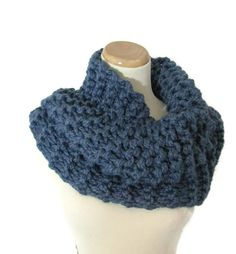Ready To Ship Outlander Inspired Cowl  Chunky by ArlenesBoutique