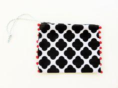 unique zipper pouch zipper coin pouch summer beach by JIAKUMA