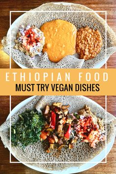 All about our newest food obsession Ethiopian food! Including a list of must try vegan Ethiopian dishes such as injera, ingudai tibs, shiro, and the spice blend berbere.