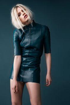 Anja Konstantinova by Silja Magg for Glamour Iceland April 2015