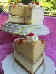Delicioso pastel combinado con un Volteado de piña y Cheesecake simplemente exquisito :)     Pastel Tentación Tropical:   2 moldes de 9...
