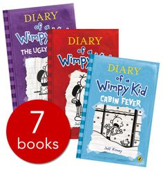 Wimpy Kid Collection - 7 Books(Paperback):9780141351698