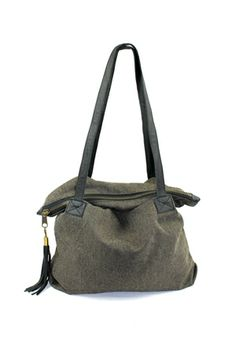 The Editor Slouch Tote $42.00 www.hearts.com