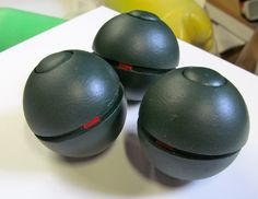 Home made flash bang grenades.