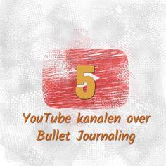 5 YouTube kanalen over Bullet Journaling. Verschilende mensen gebruiken hun BUJO voor verschillende doeleinden, een BUJO is opzet voor jou.