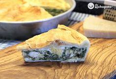 Desde Italia o Argentina, una receta perfecta para Semana Santa. la torta Pascualina. Receta de Semana Santa http://www.recetasderechupete.com/torta-pascualina-receta-de-semana-santa/19059/
