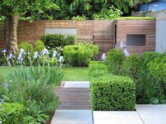 Small Courtyard Gardens, Small Backyard Gardens, Small Backyard Landscaping, Back Gardens, Small Gardens, Outdoor Gardens, Small Garden Plans, Small Garden Landscape, Urban Garden Design