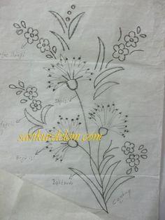 Embroidery Pattern from nakış paftası. jwt