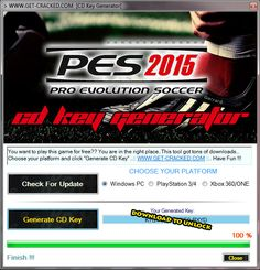 play PES15 now for free.. cd key giveaway