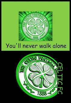 Celtic Fc ... You'll Never Walk Alone ©The Creative Minds Art and Photography