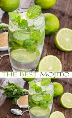 You'll absolutely want to try this Classic Mojito Recipe. It's classy, elegant and the perfect easy cocktail recipe for summer sipping on the patio or pool. Enjoy this fresh mint recipe on your search for the perfect summer cocktail recipe.
