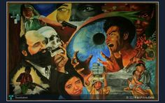 (PANAGHOY sa Kamalayan ng kabataan) Acrylic on 2x3 feet canvass Artist Bautista, Christopher Arch B. #Creative #Art #Painting #Philippines #TalentEverywhere @Touchtalent.com
