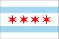 Before I moved to Chicago in 2005, I didn't even know cities had their own flags. In Chicago, the flag is everywhere. It's incorporated into all different aspects of city life and the design elements are used on businesses, websites, clothing and apparel. So when I moved back to San Francisco in 2008 I looked