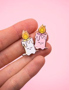 Candle light pin