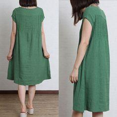 Women summer dress long dress Womens Clothing Plus Size by Roniaz