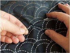 How-To craft blog - many mediums including Sashiko embroidery