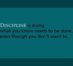 """The only discipline that lasts is self-discipline.""  ~Bum Phillips~ 9/29/1923    #inspiration #alcoholism #addiction #recovery"