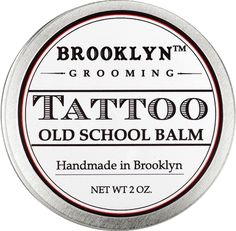Made and designed in Brooklyn, New York, our tattoo balm is an organic alternative to petroleum jelly based tattoo care products. Most ointments made for tattoo aftercare are loaded with petroleum jelly which can irritate skin and clog pores. We believe that when your skin is in a fragile state you need a product that will help you heal naturally. Our formula contains highly nutritive regenerating antifungal oils and butters that help ease swelling and aid in the healing process.