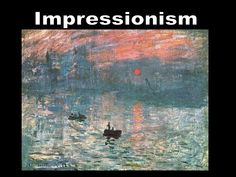 Sunrise, by Claude Monet. One of the first paintings of the Impressionism era, and the reason of the critic of Louis Leroy, which helped define the title 'Impressionist' for that modern art. Monet Paintings, Impressionist Paintings, Paintings I Love, Landscape Paintings, Claude Monet, Wow Art, Fine Art, Art Plastique, Art And Architecture