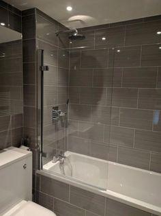 58 Ideas bathroom tub remodel shower surround for 2019 Bathroom Tub Shower, Hall Bathroom, Bathroom Floor Tiles, Modern Bathroom, Bathroom Ideas, Tile Floor, Master Bathroom, Bathroom Remodeling, Restroom Ideas