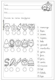 Atividades com letra cursiva