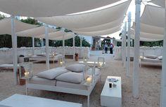 divine white gazebo/lounging area Interiors by menossi  h205