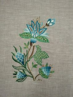 Jacobean embroidery                                                                                                                                                                                 More