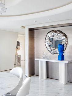 Marble Bathtub, Zhuhai, Curved Staircase, Minimal Design, Living Area, Living Room, Minimalism, Interior Design, Architecture