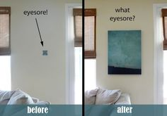 16 Helpful Solutions to Hide the Eyesores in Your Home - Homes and Hues
