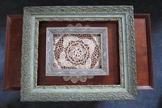 Antique Ornate Picture Frames Gesso Wooden Wall Art - Large Home Decor for your Victorian Tea Room or Shabby Chic Cottage