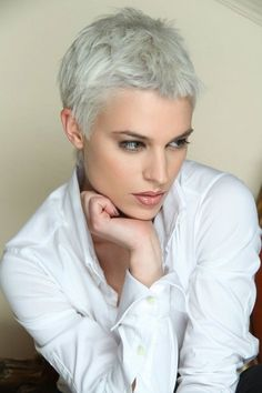 Pixie for strong features. There's a right length for everyone.