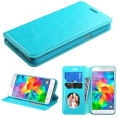 Insten Slim Leather Wallet Flap Pouch Phone Case Cover with Stand For Samsung Galaxy Grand Prime #2119535