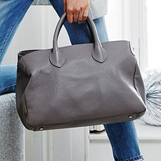 Structured Tote - Dove