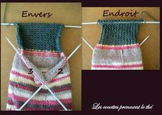 KAL # 1 pour maitriser le défi chaussette - Les cocottes prennent le thé Slipper Socks, Slippers, Projects To Try, Wool, Accessories, Knitting Tutorials, Images, Fashion, Socks