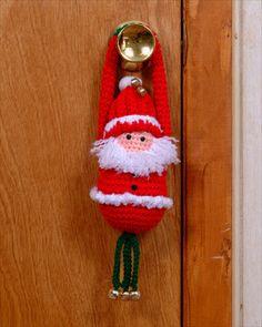 santa door hanger or ornament