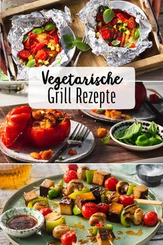 Barbecue without meat? No problem. There are now so many vegetarian alternatives that even meat fans are convinced. Vegetarian barbecue grill party vegan vegetables grilled vegetables Eating with friends Summer Spring // # BBQ party Barbecue Recipes, Grilling Recipes, Meat Recipes, Vegetarian Recipes, Healthy Recipes, Barbecue Grill, Asian Recipes, Carne Asada, Healthy Eating Tips