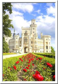 Hluboka Castle / Czech Republic