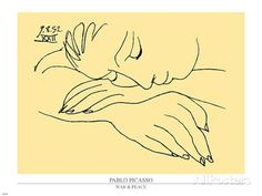 War and Peace Art by Pablo Picasso - AllPosters.co.uk