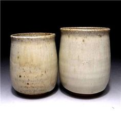Japanese pottery tea cups, Karatsu ware by Famous potter, Seiho Oishi Japanese Pottery, Tea Cups, Candle Holders, Vase, Candles, Home Decor, Japanese Ceramics, Decoration Home, Room Decor