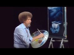 Bob Ross - Evening at the Falls (Season 26 Episode Oil Painting Lessons, Painting Tips, Painting Techniques, Painting Tutorials, Acrylic Tutorials, Bob Ross Painting Videos, Bob Ross Paintings, Oil Paintings, Robert Ross
