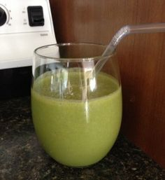 Banana-Free Green Smoothie || #gastroparesis friendly