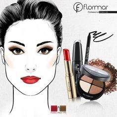¡Maquillaje para el sábado!  ¿Te animas a hacerlo?