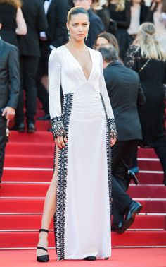 Pin for Later: Adriana Lima's Most Jaw-Dropping Red Carpet Looks of 2016 May at the Cannes Film Festival